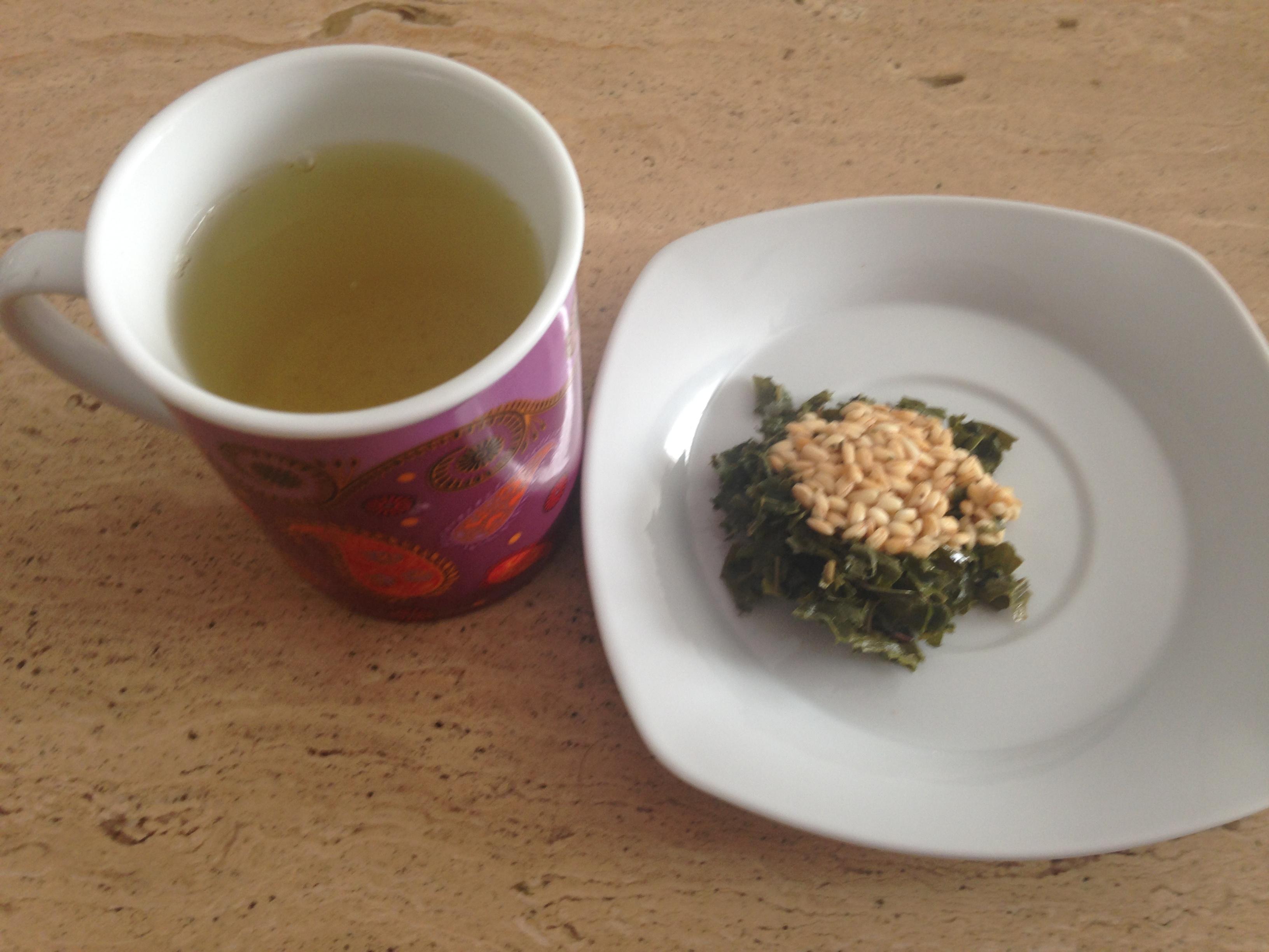 ¿Y por qué no un té verde de arroz? Atrévete a probar algo nuevo
