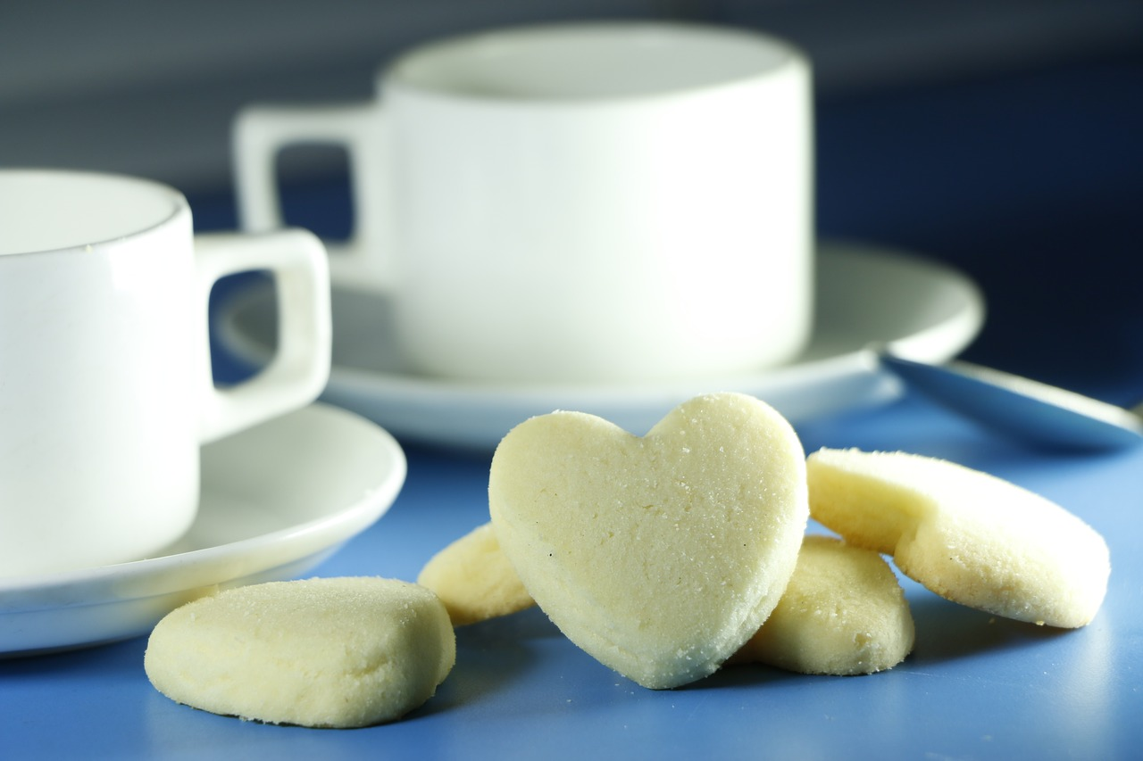 Celebra San Valentín compartiendo té