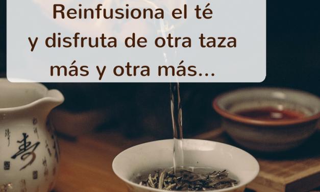 Reinfusionar tea