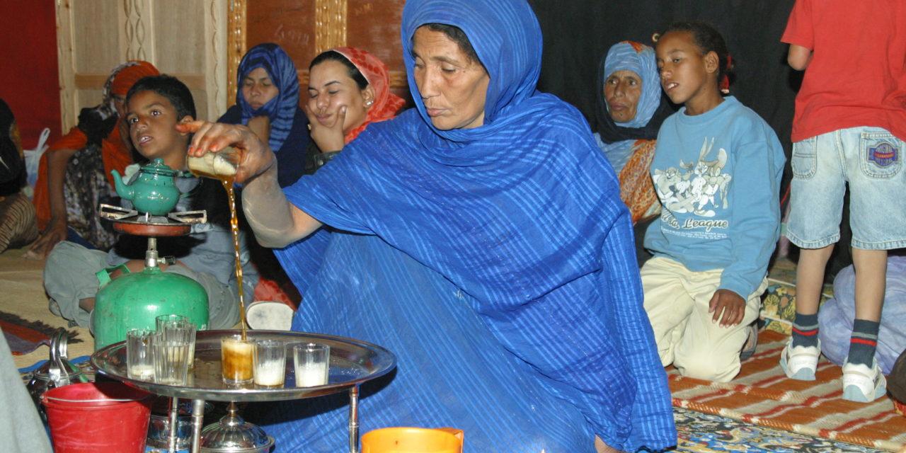 Sahara and tea: a great love story